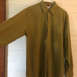 The North Face Striped Long Sleeve Shirt Men's